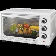 Электрическая печь Liberton LEO-380 хлебопечка гриль 38 л  1600W  3 режима нагрева духовка настольная Белая