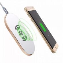 Беспроводное зарядное устройство Awei W2 поддержка Qi белый