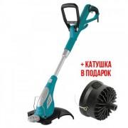 Триммер бензиновый Sadko ETR-600 600 Вт двигатель снизу электрокоса поворот 90 градусов