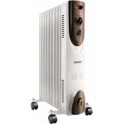 Масляный обогреватель радиатор 9 секций ARDESTO OFH-09X1 2000Вт 3 уровня терморегулятор батарея электрический 20м напольный мобильный защита от перегрева опрокидывания