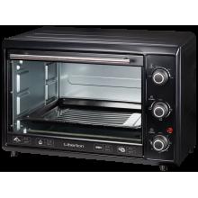 Электрическая печь Liberton LEO-400 выпечка гриль 40 л  2000W  3 режима нагрева духовка настольная Черная