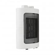 Тепловентилятор обогреватель керамический электрический VILGRAND FVC 157T  1500 Вт дуйка настольный напольный 3 режима автоотключение защита от перегрева при падении 20м с термостатом ультратихий переносной портативный Белый