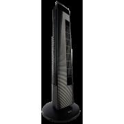 Вентилятор 2 в 1 ионизатор напольный колонный с пультом ДУ таймером подсветкой ECG FS 91 T 65 Вт автоповорот 80 градусов 3 скорости тихий